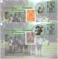 6230  Baden Powell: 2 PAP Avec Oblit. Temp. Scout 2001  Scout Special Cancels On Stationery Covers: Gilwell Park, London - Scoutisme