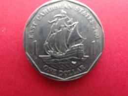 East  Caraibes  1 Dollar  2002  Km 39 - Territoires Britanniques Des Caraïbes