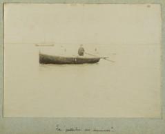 """(Manche) Regnéville-sur-Mer . Le """"patache Des Douanes"""" . Bateau . Barque . Citrate Circa 1895 . - Photos"""
