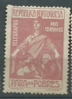 Portugal  - Telegraphe  - Yvert N° 1 (*) - AY 11211 - Télégraphes