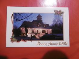 D 24 - Sarlat - Moulin De Moreau - Christian Malaurie Meilleurs Voeux Pour 1999 - Sarlat La Caneda