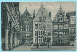 0947 - BELGIE - IEPER - YPRES - CONCIERGERIE - IN DEN ANKER - 1911 - Ieper
