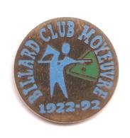 AA213 Pin's BILLARD CLUB MOYEUVRE Moselle  Achat Immédiat - Billard