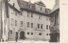 CPA:ALLEMAGNE WEIMAR HERDERHAUS MAISON DE HERDER - Weimar