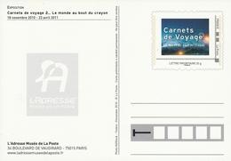 ENTIER Du MUSÉE De La POSTE - CARNETS DE VOYAGE 2 - Postal Stamped Stationery