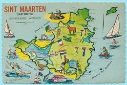 0949 - SINT MAARTEN - MAP - Cartes Géographiques