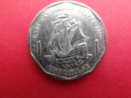 East  Caraibes  1 Dollar  2004  Km 39 - Territoires Britanniques Des Caraïbes