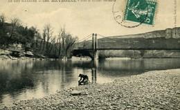 46 MEYRONNE Pont Et Rocher Ste Marie, Lavandière Sur La Dordogne - Andere Gemeenten