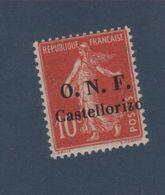 Castellorizo N° 28 10 C Semeuse Gomme Sans Charnière - Castellorizo (1920)