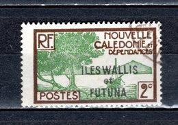 WALLIS ET FUTUNA N° 44   OBLITERE   COTE 0.25€   BAIE DES PALETUVIERS - Wallis And Futuna