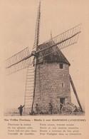 CPA:MOULIN À VENT NOS VIEILLES PROVINCES GASCOGNE LANGUEDOC (32) - Windmills
