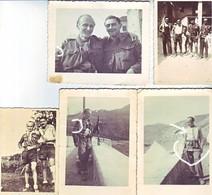 Maquis Italien Belvedere Langhi 1944-1945  ALPES Camouflage - Guerre, Militaire