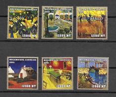 Mozambique 2001 Art - Paintings - Vincent Van Gogh II MNH - Mozambique