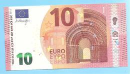 10 EURO BANQUE DE FRANCE U009A1 CHARGE 19 UA019 UNC - EURO