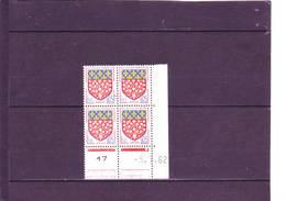 N° 1352 - 0,05 Blason D'AMIENS - B De A+B - 1° Tirage Du 5.7 Au 4.8.62 - 1° Jour De L'émission Du Timbre - - 1960-1969