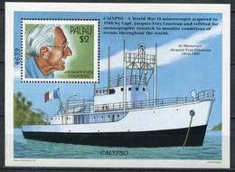 Palau Mi# Block 57 Postfrisch MNH - Ship - Palau
