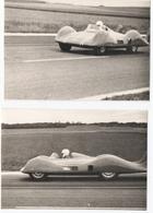 AUTOMOBILE. PHOTO ( 2 )  ETOILE FILANTE RENAULT. REIMS. 1956. RETIRAGE Sur PHOTO. - Automobiles