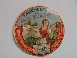 ETIQUETTE/CAMEMBERT /LA BELLE BLANCHETTE/CHAPELLE LAUNAY/ LOIRE ATLANTIQUE - Fromage