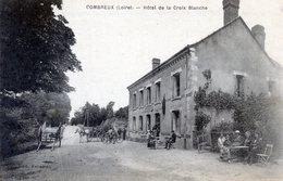 45  COMBREUX  HOTEL DE LA CROIX BLANCHE - Frankreich