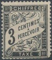 FRANCE - 1882, Yt T12, 3c - Taxes