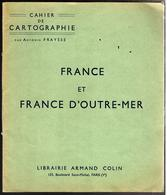 28940 A - CAHIER DE  CARTOGRAPHIE - Géographie