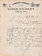 Facture 1905 / VIARD GILBERT / Charron / Braine / 02 Aisne - 1900 – 1949