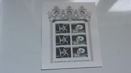MONACO 1993 (cote 7,50**) EUROPA Art Contemporain - Blocs