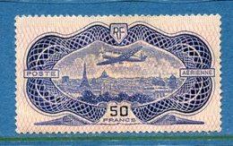France - Poste Aérienne - YT PA N° 15 - Neuf Avec Adhérence - 1936 - Posta Aerea
