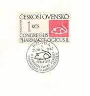 Congressus Pharmacologicus II. Praha Prag 1963 - Labor-Maus - Pharmacie