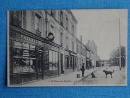 6-  St.- MAUR -les- FOSSES- La Rue Des Remises - Saint Maur Des Fosses
