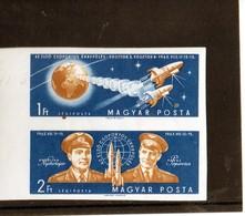 CG12 - 1962 Ungheria - Vostok 3 E 4 - Non Dentellato - Europe