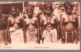 CPA Vietnam - Femmes Moïs - Campement - Seins Nus - Asie