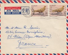 COVER LYBIA. TRIPOLI TO FRANCE. PIGEON - Timbres