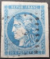 C539/99 - CERES EMISSION De BORDEAUX N°45C - LUXE - LGC - 1870 Ausgabe Bordeaux