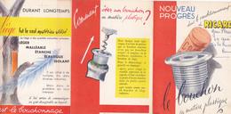Cpa / Vieux Papiers-pub- Ricard-le Bouchon En Matiere Plastique - Publicité