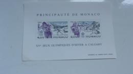 MONACO 1988 (cote 18,75**) J. O. CALGARY - Blocs