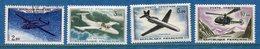 France - Poste Aérienne - YT PA N° 38 à 41 - Neuf Avec Charnière Et Oblitéré - 1960 à 1964 - Posta Aerea