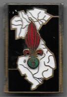 Légion - 5e R.E.I. - Insigne émaillé Drago Paris 1154 - Heer