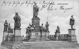 Worms Am Rhein Luther Denkmal Statues Monument - Worms
