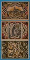 TWISTRINGEN SPARKASSE 1x25pf, 1x50pf, 1x75pf  01.09.1921  NOTGELD - [11] Emissions Locales
