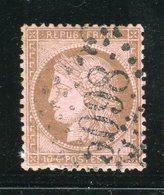 Rare N° 58 - Cachet GC 5098 Du Bureau Français De Smyrne ( Turquie ) - 1871-1875 Ceres