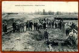 16  CPA GENSAC-LA-PALLUE   Dépot Du Génie    Beau Plan Animé  1915 Bon état (taches Au Verso) - Autres Communes