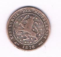 1 CENT  1878 NEDERLAND /1691/ - [ 3] 1815-… : Koninkrijk Der Nederlanden