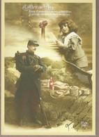 ENTIER POSTAL GUERRE 14/18 (côté Français) HOMMAGE AUX COMBATTANTS Repiquage. VOIR SCANS - Entiers Postaux