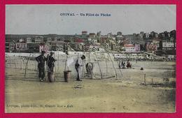 CPA Onival - Un Filet De Pêche - Onival