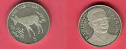 5 ZAIRES   (KM 19 ) TTTB 50 - Zaire (1971-97)