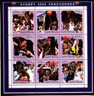Olympics 2000 - Basketball - GUINEA BISSAU - Sheet Perf. MNH - Ete 2000: Sydney