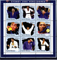 Olympics 2000 - Judo - GUINEA BISSAU - Sheet Perf. MNH - Ete 2000: Sydney