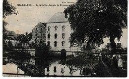 Saône Et Loire CHAROLLES Le Moulin Depuis La Promenade - Charolles
