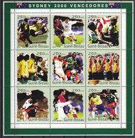 Olympics 2000 - Soccer - GUINEA BISSAU - Sheet Perf. MNH - Ete 2000: Sydney